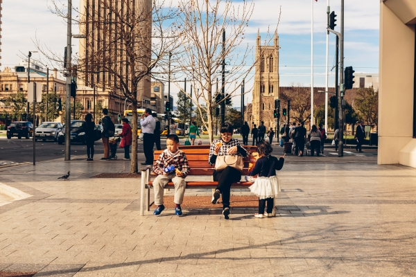Furniture on Boulevards can encourage social interaction, activities and provide places to rest