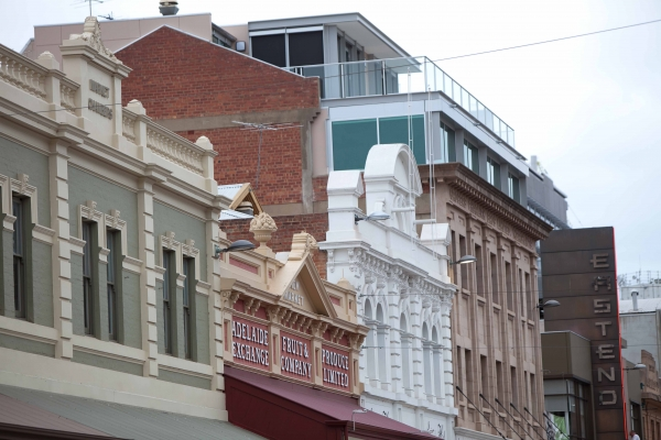 Adelaide has a number of historic buildings that are unique to the city and add interest to the streetscape