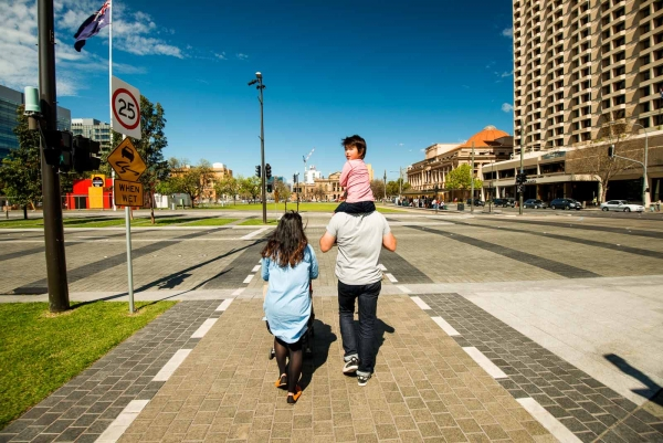 The Adelaide Design Manual will gradually and consistently transform spaces to create a city of great places for people