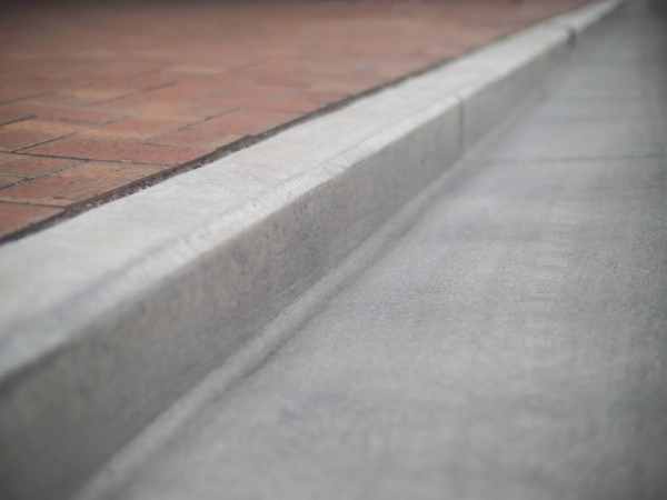 Kerbs are a fundamental element to creating safe and comfortable environments