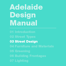 Street Design Guidelines and Design Standards (54MB)