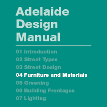 Furniture and Materials Guidelines and Design Standards (9MB)
