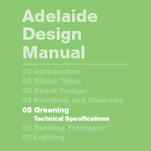 Greening Technical Specifications