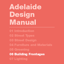 Building Frontage Guidelines and Design Standards (4MB)