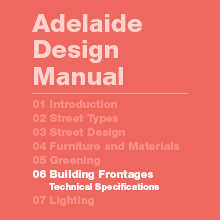 Building Frontages Technical Specifications
